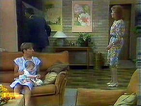 Eileen Clarke, Jamie Clarke, Madge Bishop in Neighbours Episode 0689