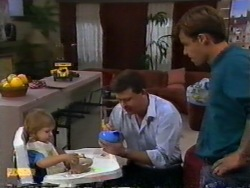 Jamie Clarke, Des Clarke, Mike Young in Neighbours Episode 0950