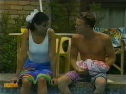 Poppy Skouros, Scott Robinson in Neighbours Episode 0950