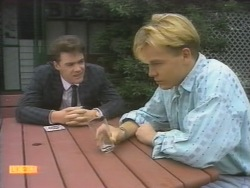 Paul Robinson, Scott Robinson in Neighbours Episode 0952