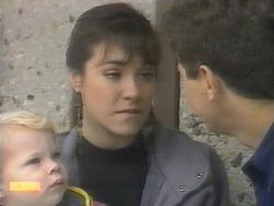 Sky Bishop, Kerry Bishop, Joe Mangel in Neighbours Episode 0953