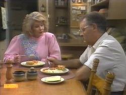 Madge Bishop, Harold Bishop in Neighbours Episode 0953