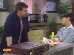 Des Clarke, Hilary Robinson in Neighbours Episode 0953