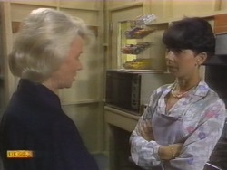 Helen Daniels, Hilary Robinson in Neighbours Episode 0954