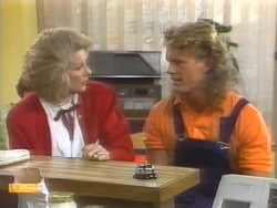 Madge Bishop, Henry Ramsay in Neighbours Episode 0954