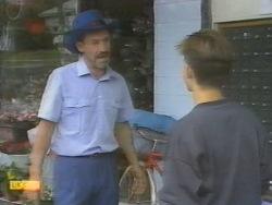 Bob Landers, Todd Landers in Neighbours Episode 0955