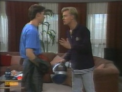 Mike Young, Scott Robinson in Neighbours Episode 0956
