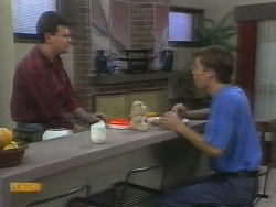 Des Clarke, Mike Young in Neighbours Episode 0956