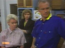 Helen Daniels, Beverly Robinson, Jim Robinson in Neighbours Episode 0956