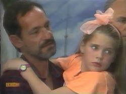Bob Landers, Katie Landers, Jim Robinson in Neighbours Episode 0957