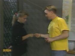 Bronwyn Davies, Scott Robinson in Neighbours Episode 0957