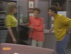 Beverly Marshall, Gail Robinson, Paul Robinson in Neighbours Episode 0957
