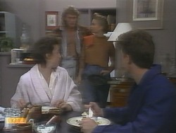 Gail Robinson, Henry Ramsay, Bronwyn Davies, Paul Robinson in Neighbours Episode 0958