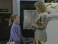 Katie Landers, Beverly Robinson in Neighbours Episode 0965