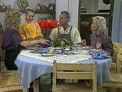 Beverly Robinson, Katie Landers, Jim Robinson, Helen Daniels in Neighbours Episode 0965