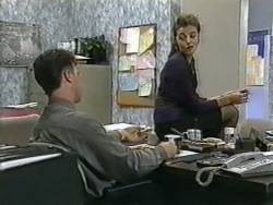 Paul Robinson, Gail Robinson in Neighbours Episode 0965