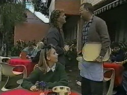 Bronwyn Davies, Henry Ramsay, Harold Bishop in Neighbours Episode 0966
