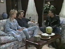 Sharon Davies, Nick Page, Matt Robinson in Neighbours Episode 0967