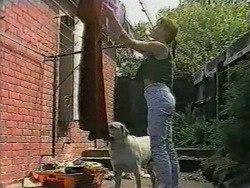 Kerry Bishop, Bouncer in Neighbours Episode 0967
