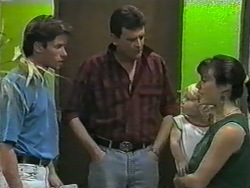 Mike Young, Detective, Sky Mangel, Kerry Bishop in Neighbours Episode 0967