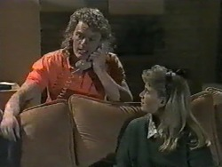 Henry Ramsay, Bronwyn Davies in Neighbours Episode 0968