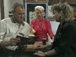 Jim Robinson, Helen Daniels, Beverly Marshall in Neighbours Episode 0968