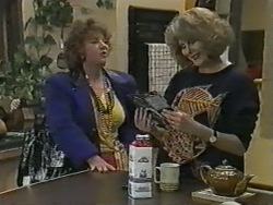 Gloria Lewis, Madge Bishop in Neighbours Episode 0969