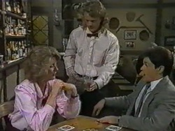 Madge Bishop, Henry Ramsay, Dean Gardner in Neighbours Episode 0969