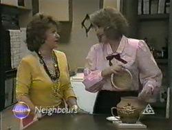 Gloria Lewis, Madge Bishop in Neighbours Episode 0970