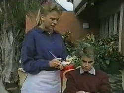Bronwyn Davies, Nick Page in Neighbours Episode 0970