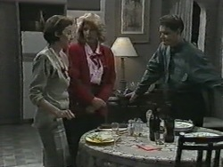 Gail Robinson, Madge Bishop, Paul Robinson in Neighbours Episode 0971