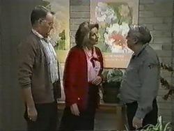 Harold Bishop, Madge Bishop, Rob Lewis in Neighbours Episode 0971