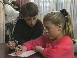 Toby Mangel, Katie Landers in Neighbours Episode 0973