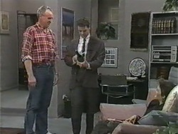 Jim Robinson, Paul Robinson, Gail Robinson in Neighbours Episode 0973