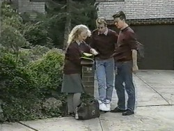 Sharon Davies, Nick Page, Matt Robinson in Neighbours Episode 0974