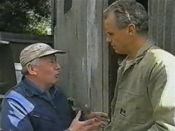 Rob Lewis, Jim Robinson in Neighbours Episode 0975