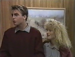 Nick Page, Sharon Davies in Neighbours Episode 0976