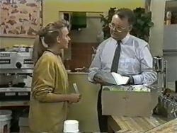 Bronwyn Davies, Harold Bishop in Neighbours Episode 0976