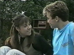 Kerry Bishop, Nick Page in Neighbours Episode 0976