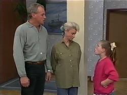 Jim Robinson, Helen Daniels, Katie Landers in Neighbours Episode 0978