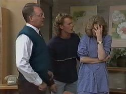 Harold Bishop, Henry Ramsay, Madge Bishop in Neighbours Episode 0979