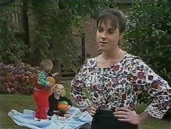 Jamie Clarke, Sky Bishop, Kerry Bishop in Neighbours Episode 0979