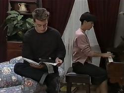 Matt Robinson, Hilary Robinson in Neighbours Episode 0980