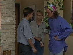 Todd Landers, Bronwyn Davies, Henry Ramsay in Neighbours Episode 0980