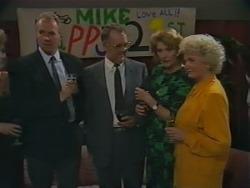 Jim Robinson, Harold Bishop, Madge Bishop, Helen Daniels in Neighbours Episode 0983