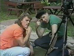 Henry Ramsay, Joe Mangel in Neighbours Episode 0984