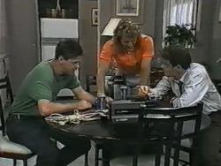 Joe Mangel, Henry Ramsay, Paul Robinson in Neighbours Episode 0984
