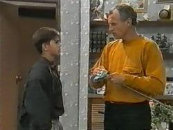 Todd Landers, Jim Robinson in Neighbours Episode 0985