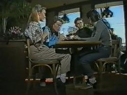 Bronwyn Davies, Henry Ramsay, Todd Landers, Alison Ryder in Neighbours Episode 0985