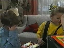 Toby Mangel, Katie Landers in Neighbours Episode 0985
